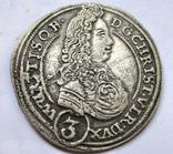 3 крейцера Кристиана 1696 года photo 1