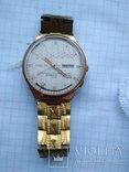 Часы ракета в позолоченом корпусе с браслетом photo 1