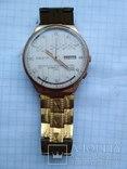 Часы ракета в позолоченом корпусе с браслетом photo 2