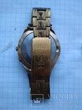 Часы ракета в позолоченом корпусе с браслетом photo 3