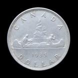 1 Доллар 1935 Каноэ, Канада photo 2