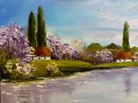 Весна на Украине.30х40 Шаркади Н. photo 2