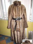 Шикарная женская норковая шуба. Германия. Лот 373