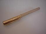 Ручка шариковая позолоченная 18 ct gilded germany dummert, фото №5