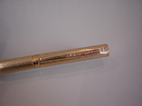 Ручка шариковая позолоченная 18 ct gilded germany dummert, фото №7