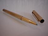 Ручка шариковая позолоченная 18 ct gilded germany dummert, фото №10