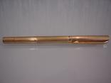 Ручка шариковая позолоченная 18 ct gilded germany dummert, фото №13