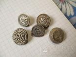 Пуговицы  лысые, разные 60 шт, фото №4