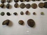 Пуговицы  лысые, разные 60 шт, фото №5