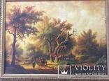 Картина ''Английский пейзаж'', Европа. Холст, масло. 55*41. Копия., фото №3
