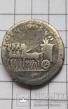 Тіт, денар Рим, денарий (Тит) колісниця, колесница