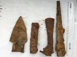 Рабочий инструмент времен КР - топор, кузнечный молоток, наральник, долото фото 1