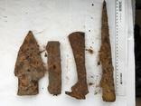 Рабочий инструмент времен КР - топор, кузнечный молоток, наральник, долото фото 7