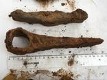 Рабочий инструмент времен КР - топор, кузнечный молоток, наральник, долото фото 11