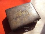 Серебряная шкатулка Япония., фото №2