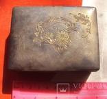 Серебряная шкатулка Япония., фото №3