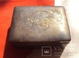 Серебряная шкатулка Япония., фото №4