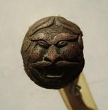 Тыльник пистоля с изображением Маскарона фото 1