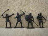 Египтяне черные 4шт., фото №2