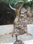 Танцовщица бронза гранит клеймо подпись, фото №8