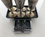 Рюмки серебро чернь 875 пр., фото №8