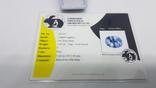 Природный сапфир 1,05 карат хорошего качества с сертификатом, фото №5
