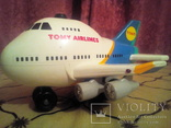Игрушка Самолёт Tomi airlines. photo 1
