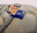 Фарфоровый флакон, деколь с ручной росписью. Голландия. photo 3