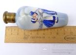 Фарфоровый флакон, деколь с ручной росписью. Голландия. photo 9