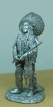 Индеец. Вождь племени с трубкой. 75мм photo 1