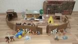 Игровой сет Форт Апачей 20 фигур + декорации 1950-1952гг. пр-ва оригинал США, фото №2