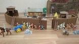 Игровой сет Форт Апачей 20 фигур + декорации 1950-1952гг. пр-ва оригинал США, фото №3