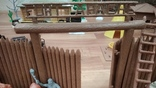 Игровой сет Форт Апачей 20 фигур + декорации 1950-1952гг. пр-ва оригинал США, фото №6