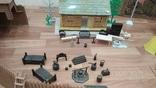 Игровой сет Форт Апачей 20 фигур + декорации 1950-1952гг. пр-ва оригинал США, фото №7