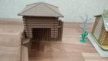 Игровой сет Форт Апачей 20 фигур + декорации 1950-1952гг. пр-ва оригинал США, фото №8
