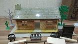 Игровой сет Форт Апачей 20 фигур + декорации 1950-1952гг. пр-ва оригинал США, фото №12