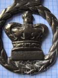 Открывалка Корона.бронза, фото №3