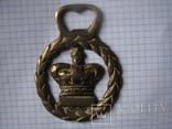 Открывалка Корона.бронза, фото №9