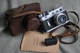Фотоаппарат Зоркий-2С № 00625, инструкция, 1955 год.