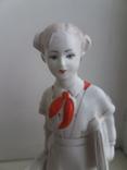 Пионерка со скрипкой, Чудово, 1959 год, 1 сорт, фото №3