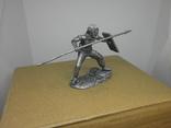 Воин со щитом и пикой. 60мм, фото №8