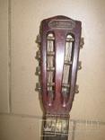 Цыганская гитара 1900 г. А. Ф. Гергардъ Харьков с перламутром, фото №4