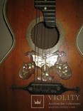 Цыганская гитара 1900 г. А. Ф. Гергардъ Харьков с перламутром, фото №6