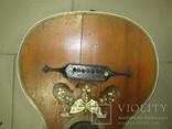 Цыганская гитара 1900 г. А. Ф. Гергардъ Харьков с перламутром, фото №7