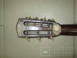 Цыганская гитара 1900 г. А. Ф. Гергардъ Харьков с перламутром, фото №9