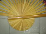 Веер. Большого размера. Китай, фото №5