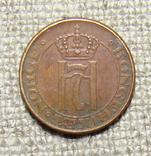 1 эре 1948 год Норвегия, фото №3