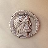 Денарий Serrate Q. Antonius Balbus 83-82 B.C. photo 1