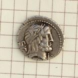 Денарий Serrate Q. Antonius Balbus 83-82 B.C. photo 3