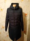 Пальто утепленное комбинированное COOL CODE p-p 42
